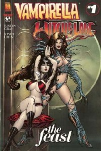 0001 5940 201x300 Vampirella  Witchblade  The Feast [Harris  Image Top Cow] OS1