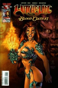 0001 6212 198x300 Witchblade  Blood Oath [Image Top Cow] OS1