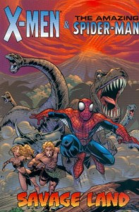 0001 6425 197x300 X Men  And The Amazing Spider Man  Savage Land [Marvel] OS1