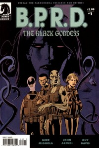 0001 897 200x300 Bprd  The Black Goddess [Dark Horse] Mini 1