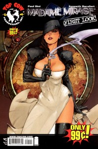 0001 First Look 197x300 Madame Mirage [Image Top Cow] Mini 1