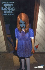 0001 Platinum Foil 193x300 Night Of The Living Dead  Just A Girl [Avatar] OS1