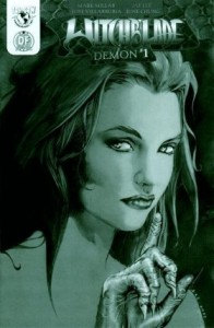 0001 bw 196x300 Witchblade  Demon [Image Top Cow] OS1