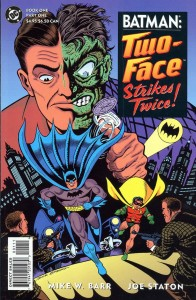 0001.1 196x300 Batman  Two Face Strikes Twice [DC] Mini 1