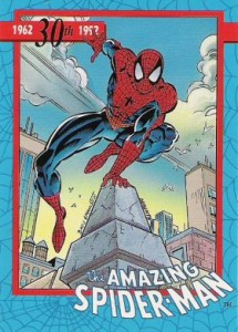 0001a 14 215x300 Amazing Spider Man 30th Anniversary 1992 [Marvel  Impel] Card Set