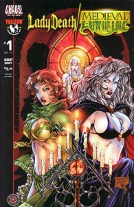 0001a 431 195x300 Lady Death  Medieval Witchblade [Chaos   Image Top Cow] V1