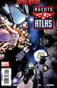 0001a 9 194x300 Agents Of Atlas  Dark Reign [Marvel] Mini 1