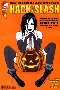 0001b 314 199x300 Hack Slash  New Reader Halloween Treat [DDP] OS1