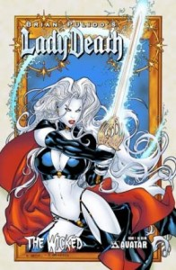 0001b 410 196x300 Lady Death  The Wicked [Avatar] Mini 1