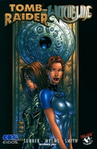 0001b 720 195x300 Tomb Raider  Witchblade [Image Top Cow] OS1
