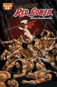 0001d 115 197x300 Savage Red Sonja  Queen Of The Frozen Wastes [Dynamite] Mini 1