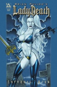 0001e 53 196x300 Lady Death  Infernal Sins [Avatar] Mini 1