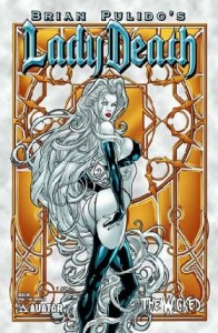 0001e 58 196x300 Lady Death  The Wicked [Avatar] Mini 1