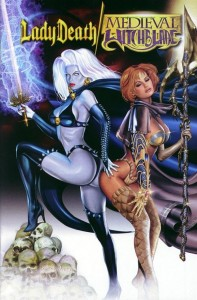 0001e 62 197x300 Lady Death  Medieval Witchblade [Chaos   Image Top Cow] V1