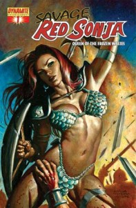 0001e 77 197x300 Savage Red Sonja  Queen Of The Frozen Wastes [Dynamite] Mini 1