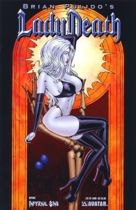 0001j 9 195x300 Lady Death  Infernal Sins [Avatar] Mini 1