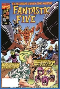 0002 1252 202x300 Fantastic Five [Marvel] V1