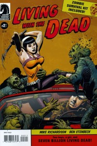 0002 1996 200x300 Living With The Dead [Dark Horse] Mini 1