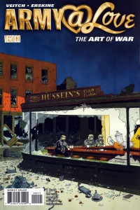 0002 252 200x300 Army At Love  The Art Of War [DC Vertigo] V1