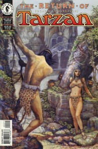 0002 2662 197x300 Return Of Tarzan [Dark Horse] Mini 1