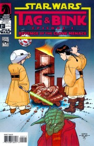 0002 3152 194x300 Star Wars  Tag And Bink  Episode 1  Revenge Of The Clone Menace [Dark Horse] OS1