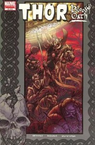 0002 3401 197x300 Thor  Blood Oath [Marvel] Mini 1