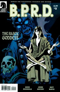 0002 558 198x300 Bprd  The Black Goddess [Dark Horse] Mini 1