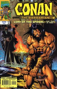 0002 713 194x300 Conan  The Barbarian  Lord Of The Spiders [Marvel] Mini 1