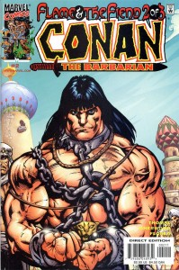 0002 786 199x300 Conan  The Barbarian  Flame And The Fiend [Marvel] Mini 1