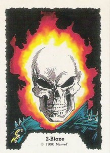 0002a 125 217x300 Ghost Rider  Series 1 1990 [Comic Images] Card Set
