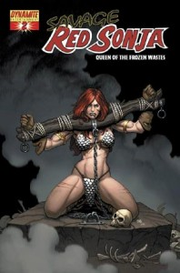 0002a 237 198x300 Savage Red Sonja  Queen Of The Frozen Wastes [Dynamite] Mini 1