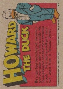 0002b 148 214x300 Howard The Duck  The Movie 1986 [Topps] Card Set