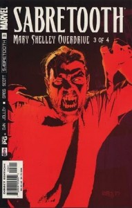 0003 2437 191x300 Sabretooth  Mary Shelley Overdrive [Marvel] Mini 1
