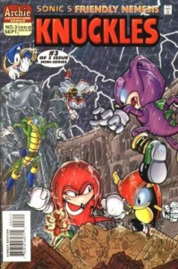 0003 2579 199x300 Sonics Friendly Nemesis  Knuckles [Archie Adventure] Mini 1