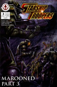 0003 2732 198x300 Starship Troopers  Marooned [Markosia] OS1