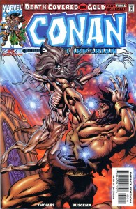 0003 646 195x300 Conan  The Barbarian  Death Covered In Gold [Marvel] Mini 1