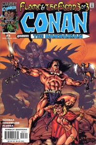 0003 670 198x300 Conan  The Barbarian  Flame And The Fiend [Marvel] Mini 1