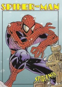 0003a 195 213x300 Spider Man 1997 [Marvel  Fleer Skybox International] Card Set