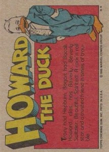 0003b 108 215x300 Howard The Duck  The Movie 1986 [Topps] Card Set