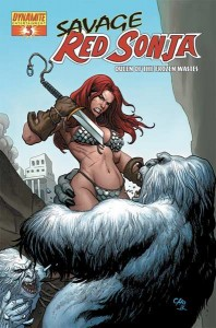 0003b 175 198x300 Savage Red Sonja  Queen Of The Frozen Wastes [Dynamite] Mini 1