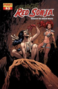 0003c 32 197x300 Savage Red Sonja  Queen Of The Frozen Wastes [Dynamite] Mini 1