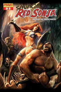0003d 23 198x300 Savage Red Sonja  Queen Of The Frozen Wastes [Dynamite] Mini 1
