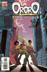 0004 1775 197x300 Ororo  Before The Storm [Marvel] Mini 1
