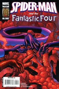 0004 2202 200x300 Spider Man  And The Fantastic Four [Marvel] Mini 1