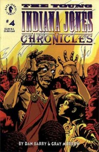0004 2877 196x300 Young Indiana Jones, The   Chronicles [Dark Horse] V1