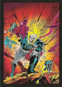 0004a 64 215x300 Ghost Rider  Series 2 1992 [Comic Images] Card Set
