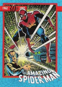 0004a 8 214x300 Amazing Spider Man 30th Anniversary 1992 [Marvel  Impel] Card Set
