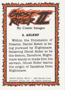 0004b 58 216x300 Ghost Rider  Series 2 1992 [Comic Images] Card Set