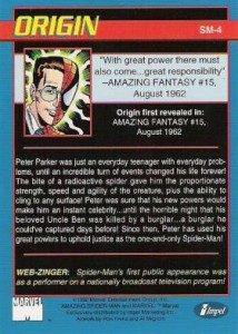0004b 7 214x300 Amazing Spider Man 30th Anniversary 1992 [Marvel  Impel] Card Set