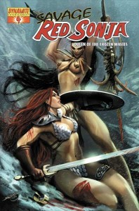 0004d 12 198x300 Savage Red Sonja  Queen Of The Frozen Wastes [Dynamite] Mini 1